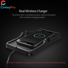 Cinkeypro Wireless Car Charger Pad