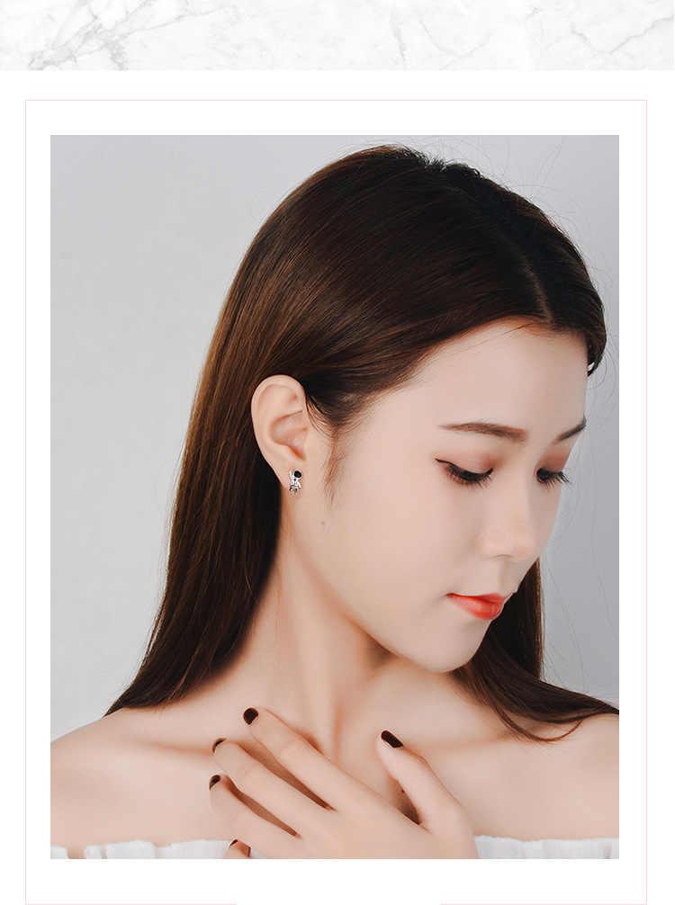 แฟชั่น EAR PIN Space นักบินอวกาศต่างหูสำหรับผู้หญิงเกาหลีสาวเครื่องประดับ 2019 ใหม่ pendientes