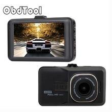 Obdtool Автомобильный видеорегистратор Камера видеокамера 1080 P Full HD видео регистратор парковка рекордер g-сенсор dashcam Камера FH06