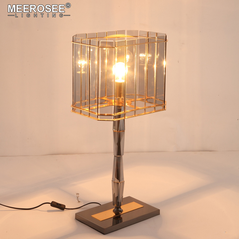 New Arrival Crystal Table Light Glass Desk Lamp For Dining