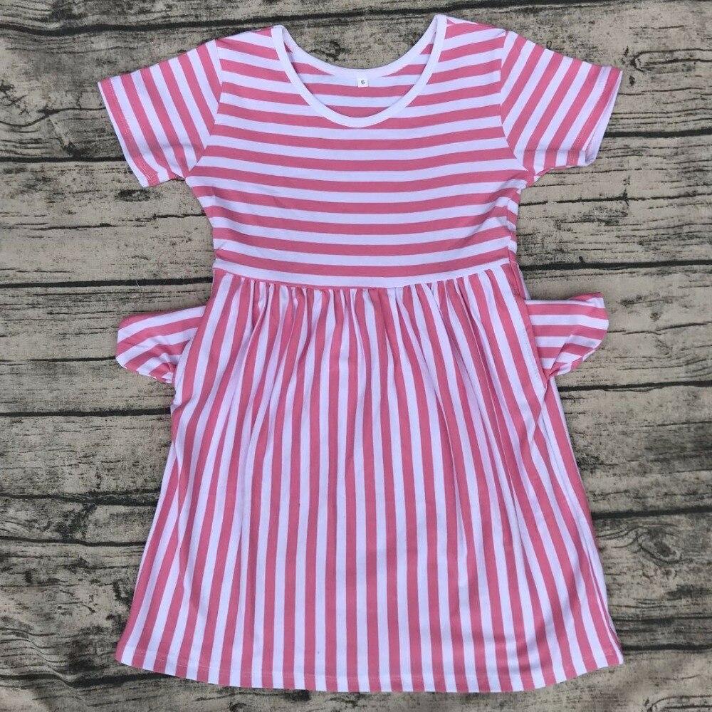 faacb91741b children round neck xxx bf photo dress with pocket wholesale summer ...