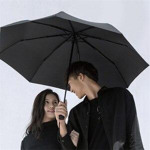 Image 4 - Xiaomi Mijia automatique ensoleillé pluvieux Bumbershoot aluminium coupe vent imperméable UV Parasol homme femme été hiver Parasol