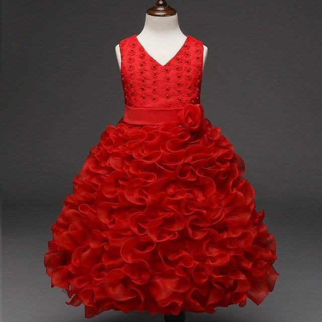 Prinzessin stil abendkleid elegante partei kleider baby mädchen ...