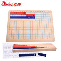 Simingyou Montessori Baby Addition And Subtraction Multiplication And Division Board Logic Game C20 Q 18 Drop