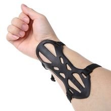 Archery Arm Guard Soft Rubber Shooting Hunting Protector Safe Adjustable Strap Wrist Armband Elastic Protective Supplies