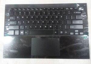Клавиатура для Sony vaio SVP1321L1EBI SVP132A16M, с подсветкой, английская, американская, laotop, Черная