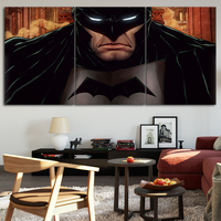 Batman DC comic Marvel Painting Wall Art Prints oil painting on 3 Piece Canvas Picture Wall Painting For Living Room No Frame