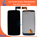 LL TRADER AAA Black Touch Screen For HTC Desire 500 Lcd Display+Digitizer Free Shipping Tested New Replacement Repair Part Tools