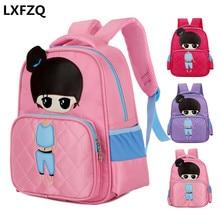 Children's backpack new High capacity lovely children school bags mochilas escolares infantis Reduce the burden school bag girls