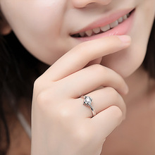 Natural Diamond Ring 18k Gold