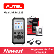 AUTEL MaxiLink ML629 Diagnostic Tool OBD2 Engine Scanner Automotive Tools OBDII Code Reader ABS SRS Upgraded Version of ML619