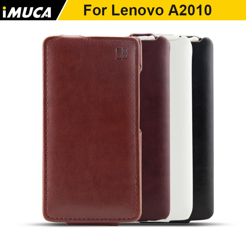 For Lenovo A2010 case New Luxury protective flip Up and Down Leather cover case for Lenovo A 2010 Phone Bags Cases Accessories