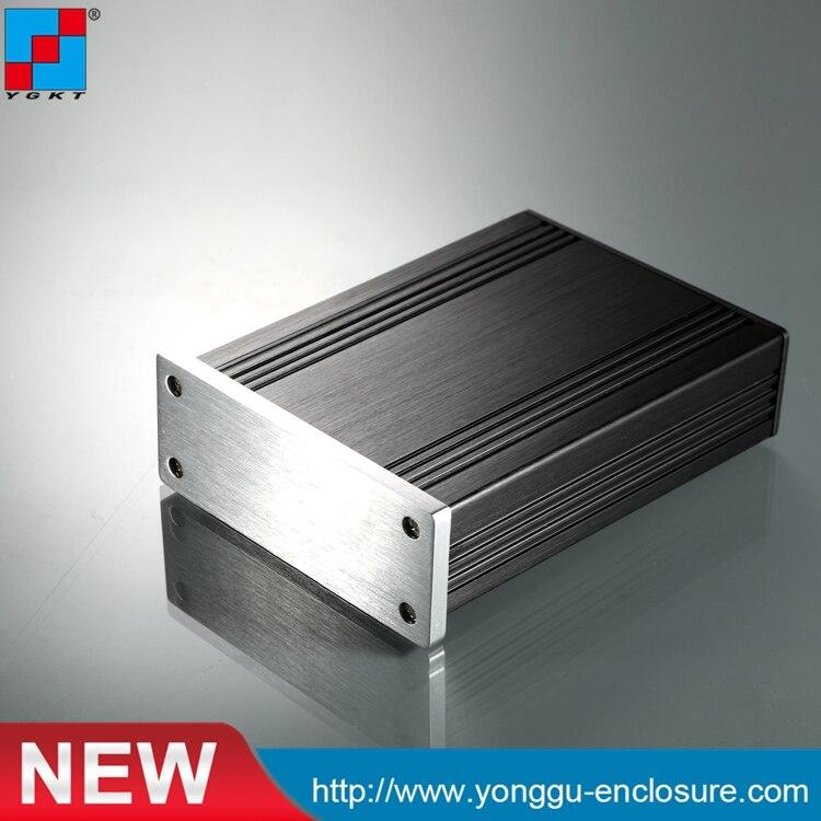 82.8*28.8*110mm (Bxh-D) Hoge Quanlity Aluminium Extrusie Versterker/volledige Aluminium Vermogen Versterker Chassis