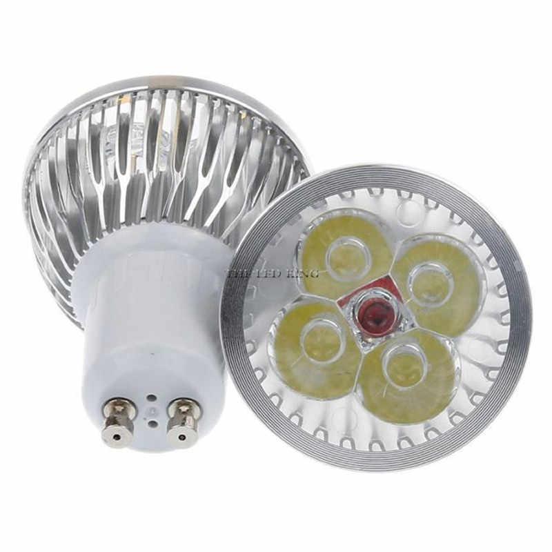 1-10 個 GU 10 Led スポットライト調光対応 GU10 LED ランプ 9 ワット 12 ワット 15 ワット 110V 220V 赤緑青ランパーダ LED 電球ライトスポットキャンドルルス