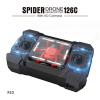 Mini SBEGO 126C Spider Drone 2 4G 3D 6 Axis Gyro RC Helicopter Roll One Key