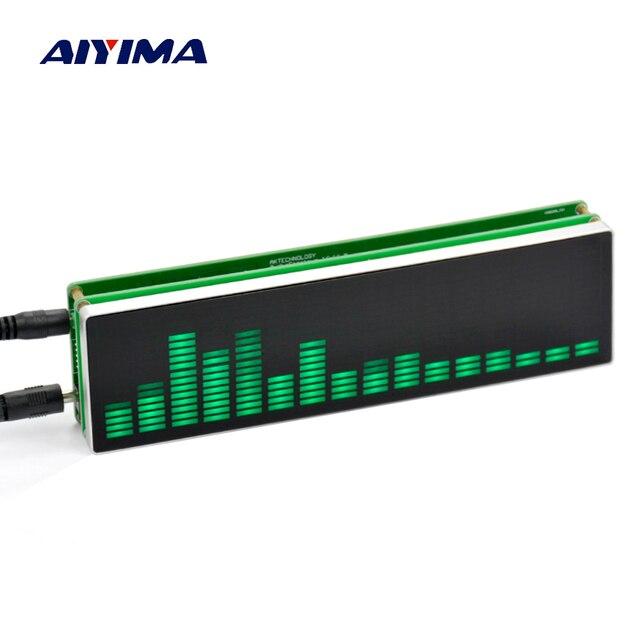 Новый 16 уровень Светодиодные Музыка Аудио спектр индикатор Усилители домашние доска Скорость Регулируемый с agc режим + Case