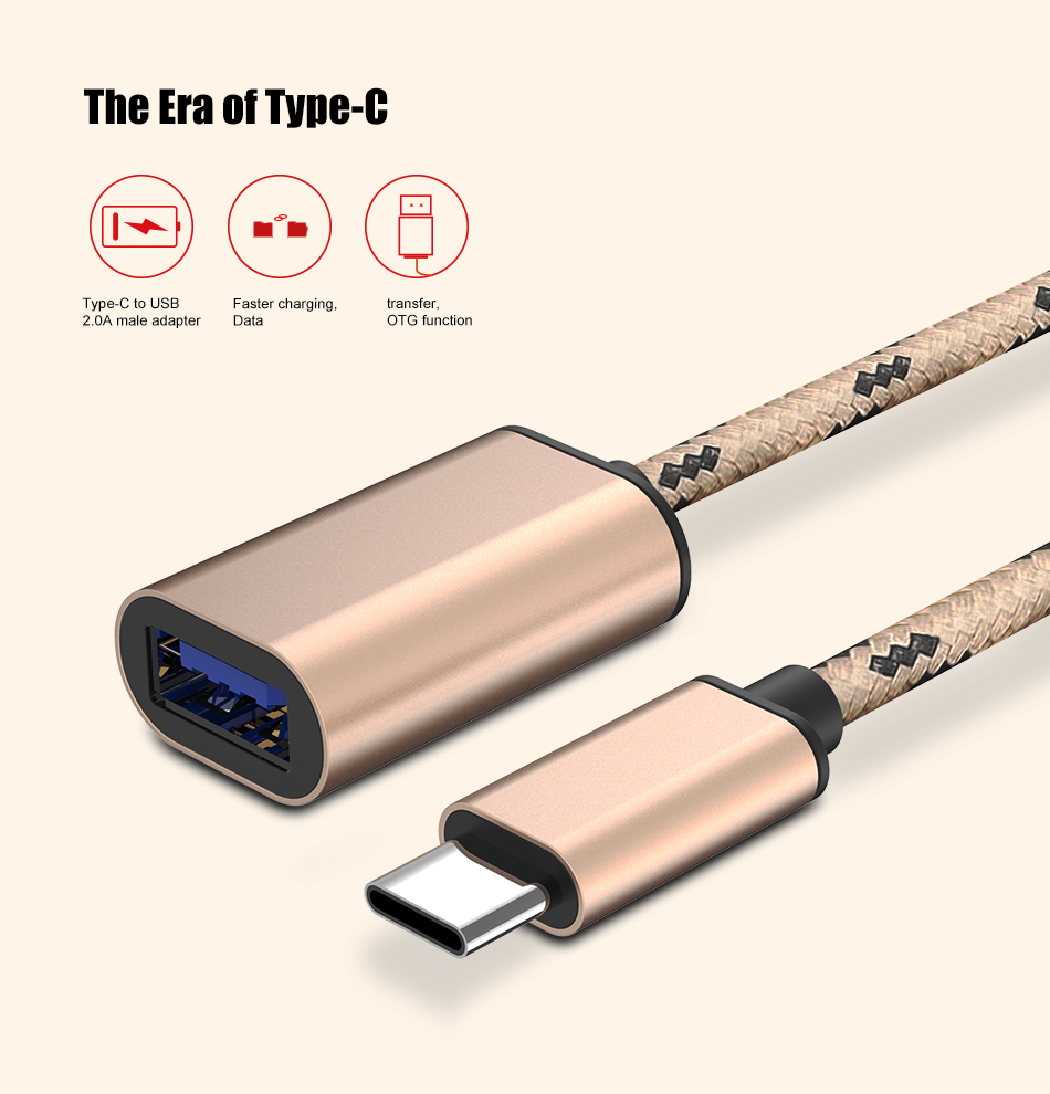 Floveme usb type c otg data adapter cable for xiaomi 4s 5 for huawei if you have any questions about the product please send us the photos including label on product packaging and the problem of product we will solve your publicscrutiny Images