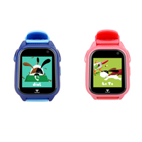 M06 Children Kid GPS IP67 Waterproof Phone Watch Smart Camera Calling SOS Anti lost Touch Screen Wristwatch 10M Distance