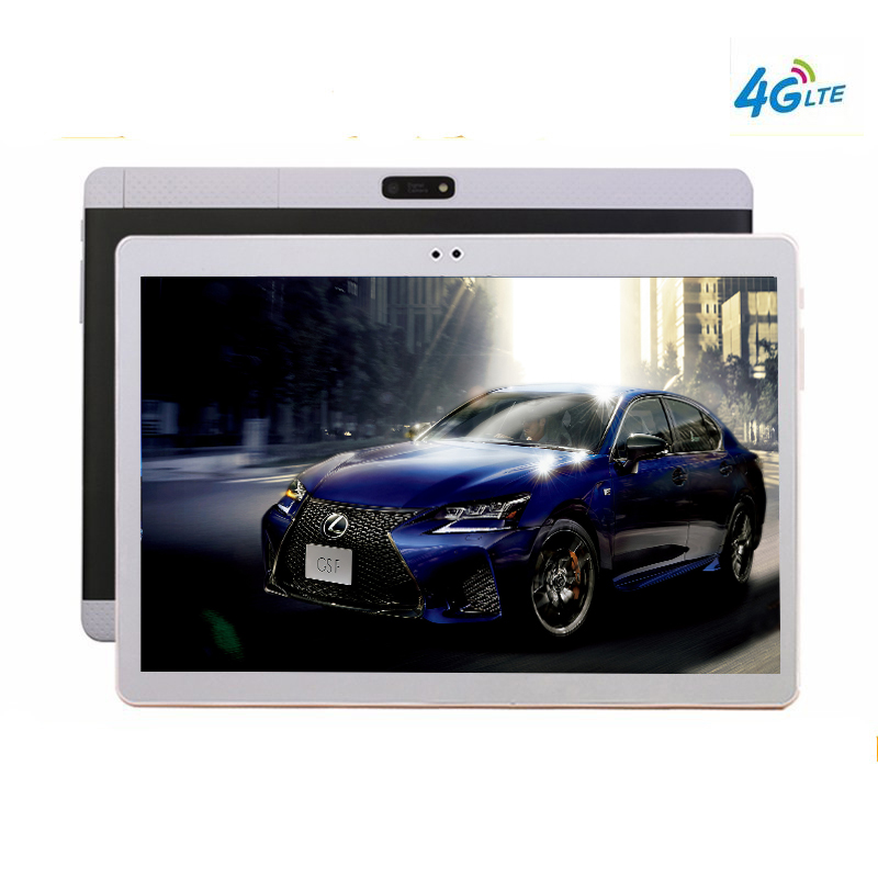 IPS Screen 10 1 Tablets Android 7 0 10 Core 128GB ROM 8MP Tablet PC 2560X1600