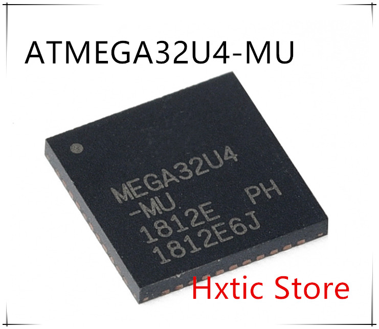 Original 10PCS LOT ATMEGA32U4 MUR ATMEGA32U4 MU MEGA32U4 MU MEGA32U4 IC MCU 8BIT 32KB FLASH 44QFN