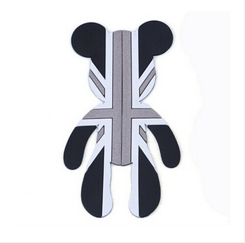 2018 Car Styling Car Door Protector Trims Stickers Door Side Edge Protection Guards For Violent Bear decal Universal Automobiles 8