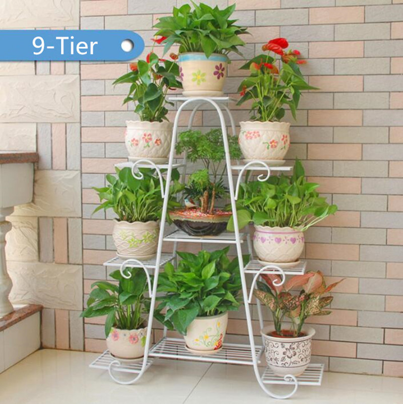 Aliexpress Versatile Indoor Plant Shelf Decorative Metal Stand Holder From Reliable Shelves Suppliers On 4039002