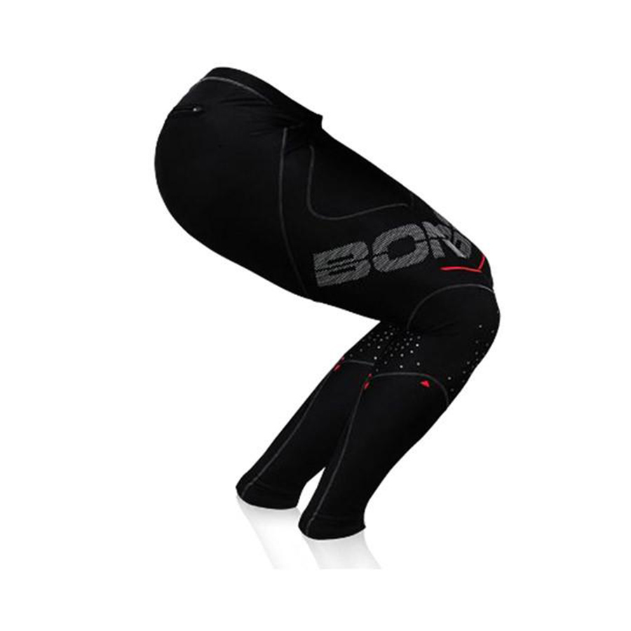 100% Original Bont HI-PERFORMANCE COMPRESSION TIGHTS Speed Skating Pants 3/4 or Full length Racing Skating Trousers For Patines цена