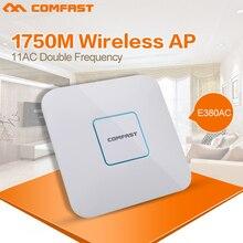 1750 Мбит Wi-Fi Ретранслятор Усилитель 2.4 + 5 ггц COMFAST беспроводной GigabitAC mi wi-fi Маршрутизатор 802.11AC двухдиапазонный openwrt wi-fi extender ap