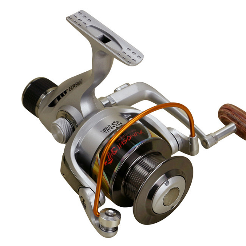 Brand NEW Spinning Fishing Reel Gear Ratio 5.5:1 Pre-Loading Spinning Wheel Fake Bait Ball Bearing 12 Metal Spool