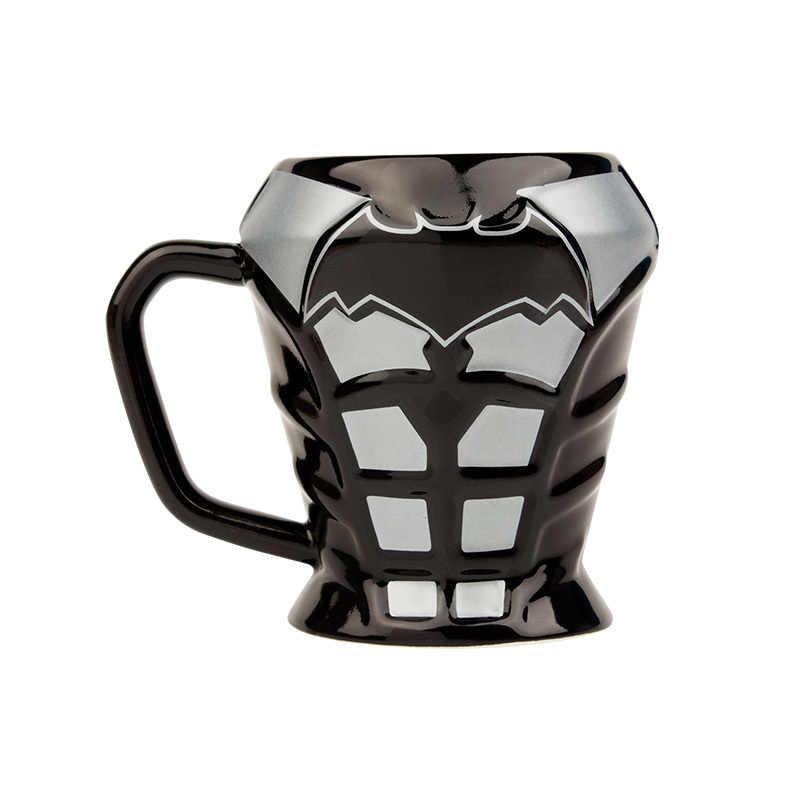 Бэтмен DC Лига Справедливости фильм 3D доспехи Loricae кружка супергерой Caneca керамика Кофе Молоко чай пивная чашка офисные украшения подарочная коробка