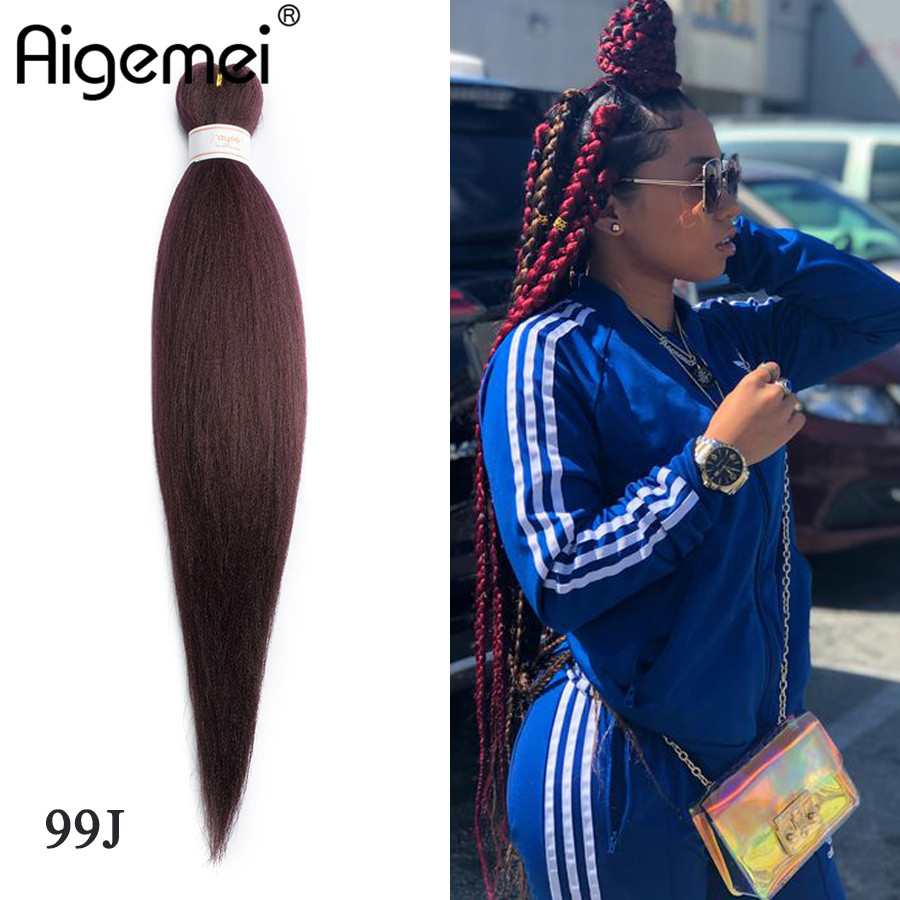 Jumbo Braids Objective Aigemei Synthetic Kanekalon Braiding Hair For Crochet Braids False Hair Extensions African Jumbo Braids For Women 22 Inch And To Have A Long Life.