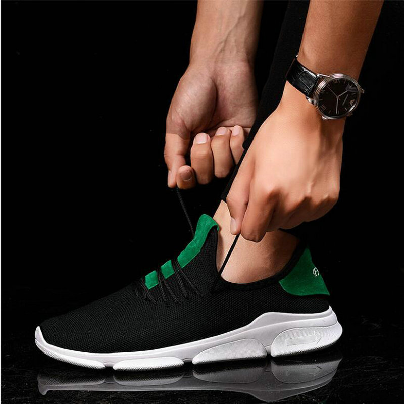 New Breathable Men Tenis Masculino Adulto Men Casual Shoes Woven Shoes Men Sneakers Fashion Trainers Men Flats Casual MM-99