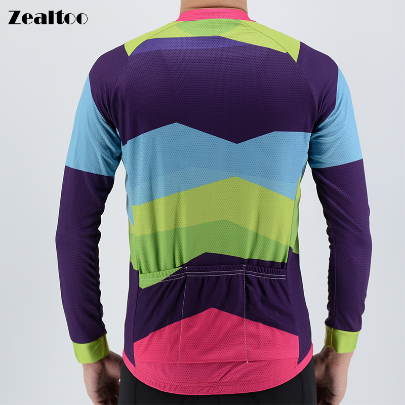Winter Thermal Fleece Cycling Jersey Spring long Sleeve MTB Bike Clothing Ropa Maillot Ciclismo Racing Bicycle Clothes Tops in Cycling Jerseys from Sports Entertainment