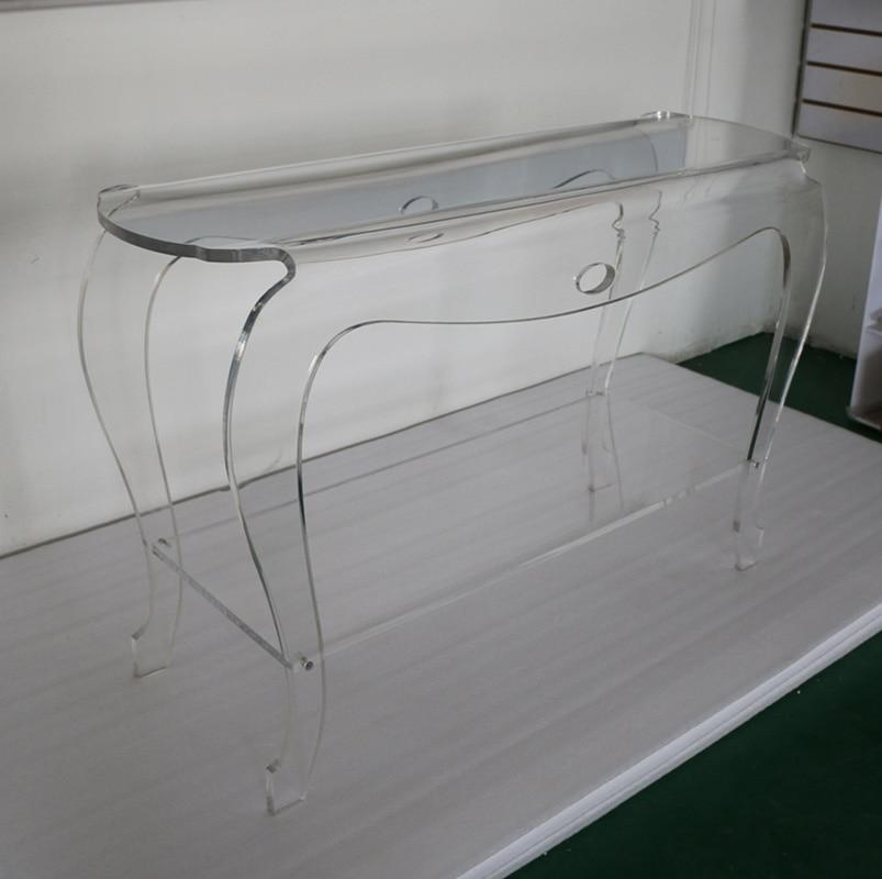 Online kopen wholesale transparant acryl tafel uit china transparant acryl tafel groothandel - Transparante plastic tafel ...