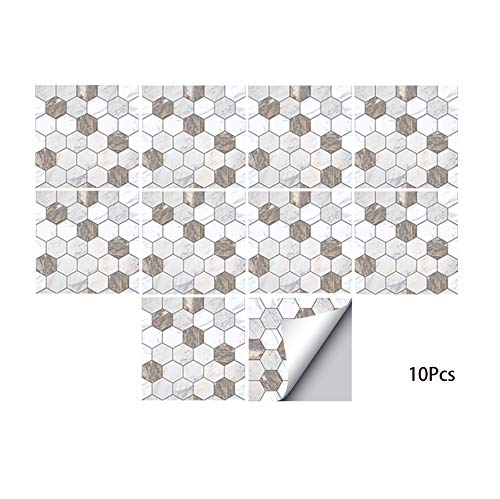 1//5//10Pcs Nordic 3D Self Adhesive Tile Wall Sticker Decal Home DIY Kitchen Decor
