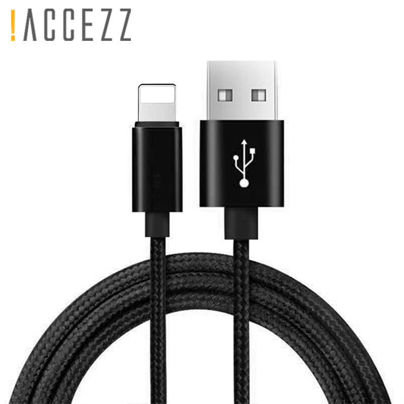 !ACCEZZ Usb Charge Cable Lighting For Iphone X XR XS MAX Charging Cables For Iphone SE 5S 5 8 7 6s 6 Plus Charger Sync Data Line|Mobile Phone Cables|   - AliExpress