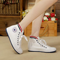 Free Shipping 2015 fashion Women  Canvas Shoes  Classic high style flat shoes woman brand Canvas shoes  free shipping