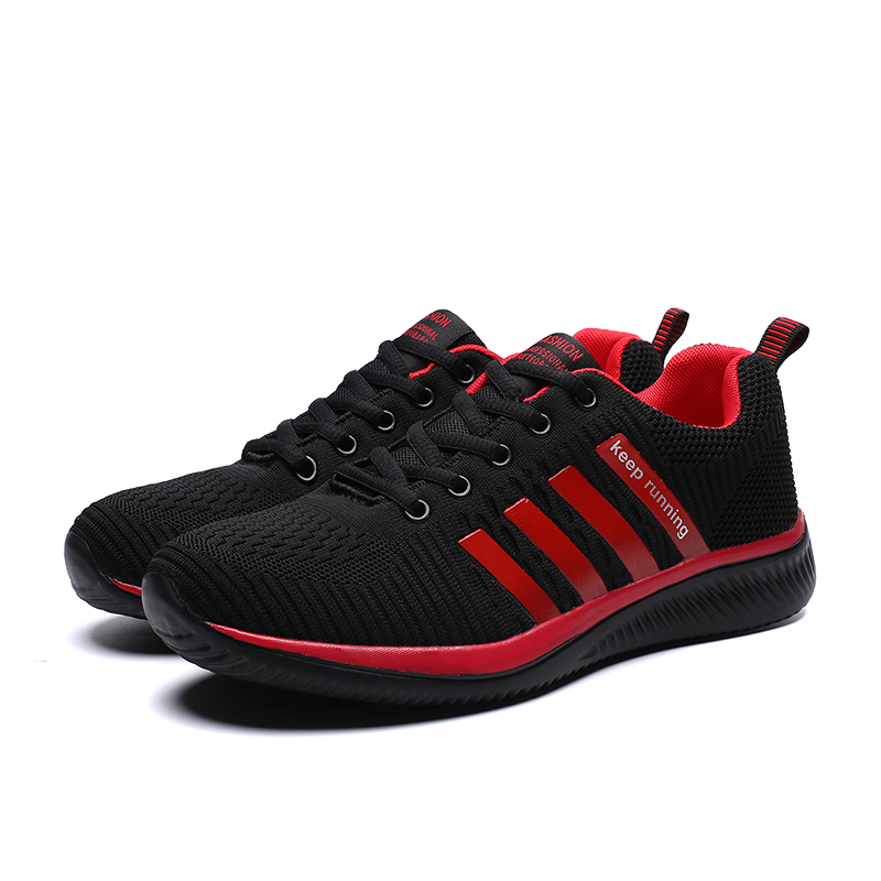 HTB1s0wQRwHqK1RjSZFEq6AGMXXaO 2019 Fashion Men Casual Shoes Lac up Men Mesh Shoes Lightweight Comfortable Breathable Walking Sneakers Tenis Feminino Zapatos