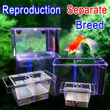 UP Power Type Bucket Fish Box Isolation box And Breeding Small/Large/4 in 1 Highly Transparent Acrylic Small Beautiful