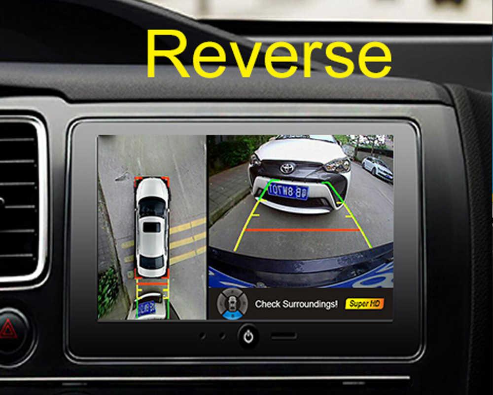 Weivision 1080P HD 360 градусов система объемного обзора птиц панорамный вид, все камеры с круглым обзором с четырехъядерным процессором DVR