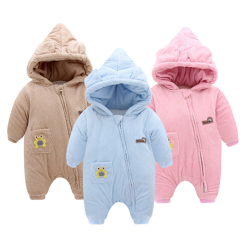 Travel snail baby boys girls romper 2017 Winter New clothing costume newborn jumpsuit overalls bebek giyim hooded solid cotton cotton baby rompers set newborn clothes baby clothing boys girls cartoon jumpsuits long sleeve overalls coveralls autumn winter