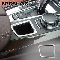 BROSHOO Car Storage Box Sticker 3D Decals For Bmw X5 F15 X6 F16 2014 2017 Auto