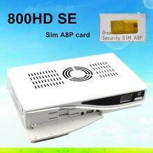 3 unids/lote original sim a8p DM800se M sintonizador DVB 800se DM800 sunray 800 HD D6 Versión digital Receptor de TV Por Satélite