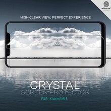 2 шт./партия Защитная пленка для экрана Xiaomi Mi 8 NILLKIN Супер прозрачная защитная пленка против отпечатков пальцев для Xiaomi Mi 8