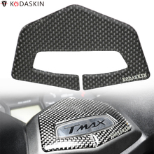 KODASKIN ADESIVO 3D PROTEZIONE Motorcycle Decal Handlebars Raised Sticker Carbon Protector Emblem per SCOOTER FOR T MAX TMAX 530