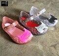2016 Hot New Kids Mini Melissa Jalea Sandalias Para Bebé niñas helado Lindo Verano de Los Niños de Dibujos Animados Zapatos de Playa Infantil Sandalia