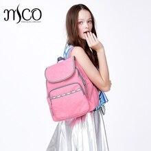Высокое качество Женские Нейлон Водонепроницаемый Кампус Рюкзак для девочек-подростков студенческой высшей школы путешествия розовый рюкзак сумка для ноутбука