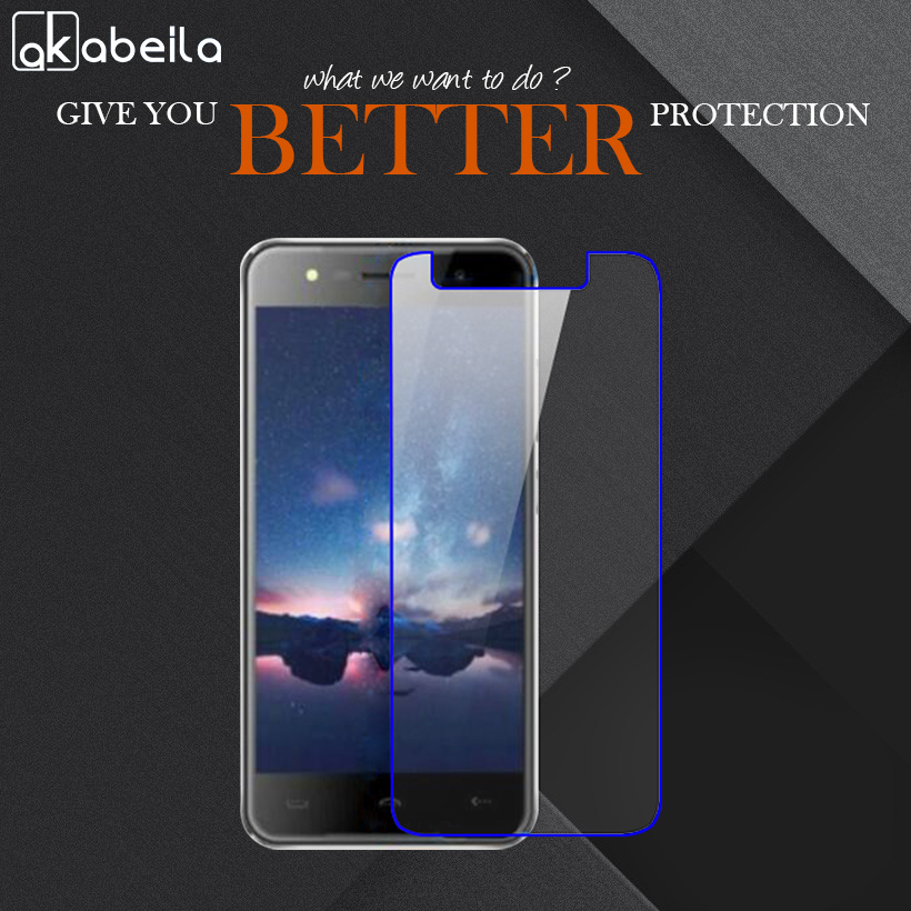 AKABEILA Phone Tempered Glass For HOMTOM HT37 HOMTOM HT37 Pro 5.0 inch Tempered Glass Temperli Cam Steel Wholesale