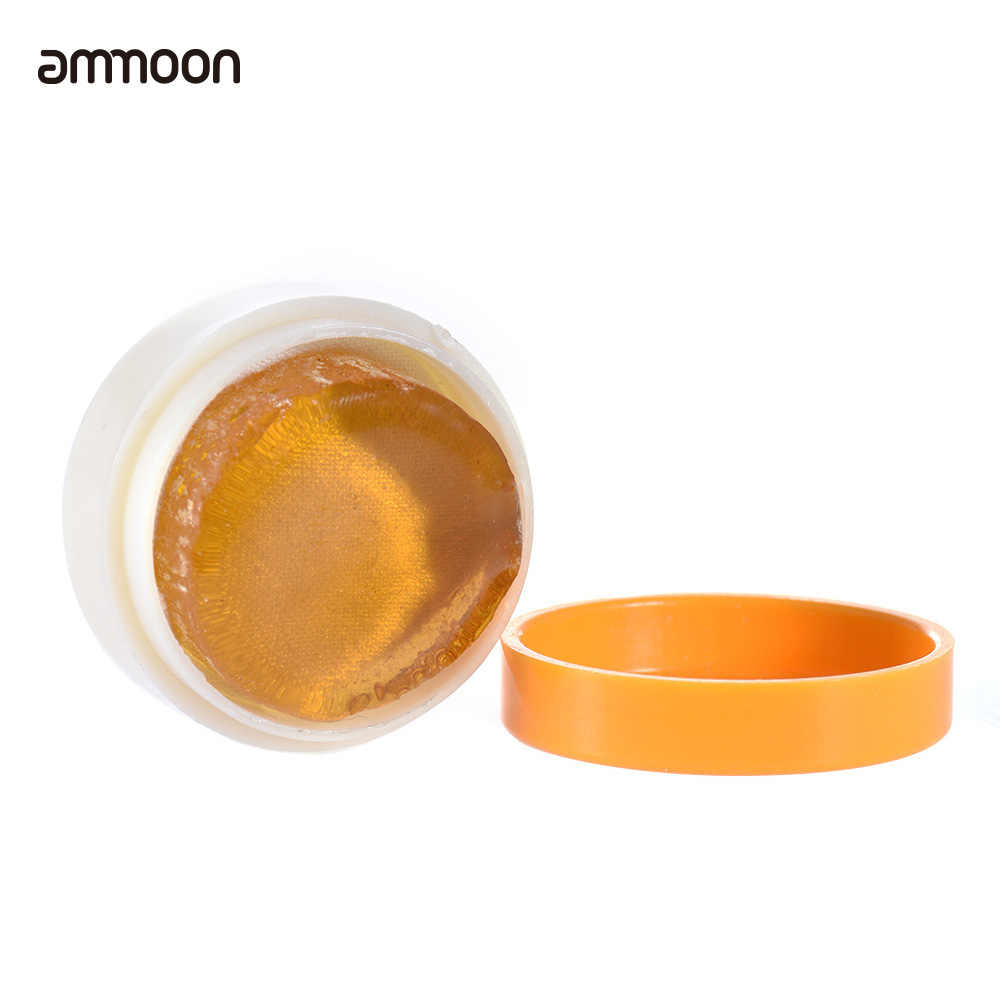 Résine ammoon transparente Orange colophane naturelle cylindrique pour violon alto violoncelle lumière et faible poussière violon pièces et accessoires