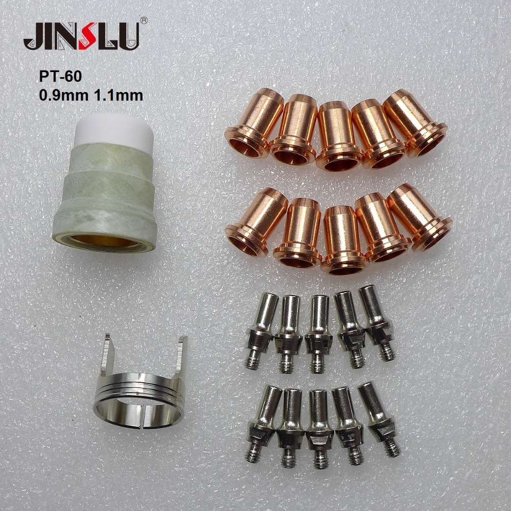 52582 Electrodes Tips PT-60 PT-40 IPT-60 IPT 60 IPT-40 PTM-60 Back Striking Plasma Torch Comsuambles NON HF Pilot Arc